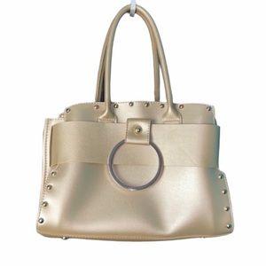 Discovery Clothing Gold Handbag